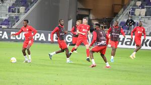Sivasspor, Maccabi Tel-Aviv maçı hazırlıklarını tamamladı