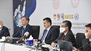 Türkiyeden astronotlarla telsiz görüşmesi gerçekleştirildi
