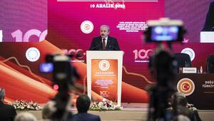 TBMM Başkanı Şentop, Doğu Akdeniz Sorunlarına Hukuki ve Siyasi Yaklaşım Sempozyumunda konuştu