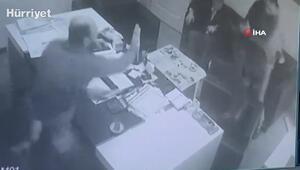 2 kişinin öldüğü cinayetin dehşet anları güvenlik kamerasında