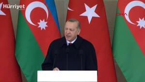 Cumhurbaşkanı Erdoğandan net mesaj: Azerbaycan destan yazmaya devam edecek