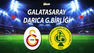 Galatasaray Darıca maçı ne zaman oynanacak