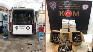Fethiye ve Marmariste kaçakçılık operasyonları: 6 gözaltı
