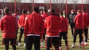 Gençlerbirliğinde BB Erzurumspor hazırlıkları Gol çalışması...