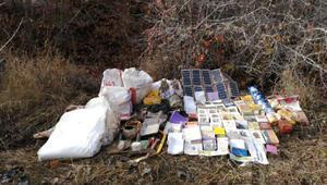 Bitlis kırsalında EYP yapımında kullanılan malzemeler ele geçirildi
