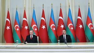 Son dakika haberi: Azerbaycanda tarihi imzalar atıldı Cumhurbaşkanı Erdoğandan flaş Ermenistan mesajı