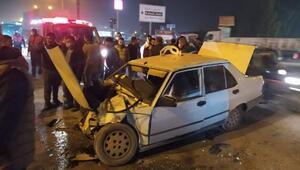 Tarsusta pikap ile otomobil çarpıştı: 1 ölü, 1 yaralı