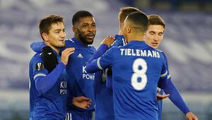Leicester City 2-0 AEK Atina maçı (Cengiz Ünder gol attı)