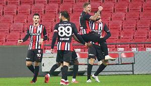 Bursaspor ligin en az yenilen takıma karşı