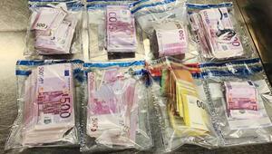250 bin ayakkabısından 100 bin euro iç çamaşırından çıktı