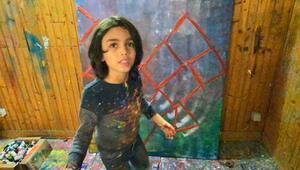 Minik Picasso İzmir için çalıştı