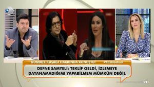"""""""Neler Oluyor Hayatta"""" programında Defne Samyeli'nin açıklamaları değerlendirildi."""