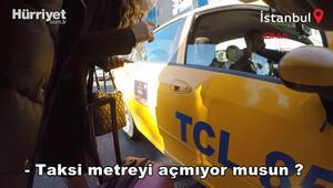 Turist kılığına girip denetledi Taksicilere ceza yağdı
