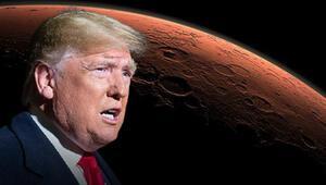 Son dakika...Başkan Trumptan giderayak çarpıcı Mars açıklaması