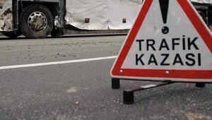 Yozgat'ta trafik kazası: 2 ölü, 4 yaralı