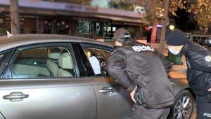 Denetim sırasında polis kontrol noktasından kaçtı