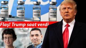 Son dakika haberi: Pfizer-Biontechin koronavirüs aşısı için Trumptan flaş açıklama