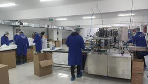 Koronasavar maske dünyaya ihraç ediliyor Yüzde 99.9 koruma