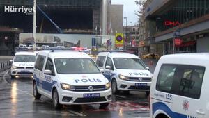 Taksim Meydanında merak uyandıran siren sesleri