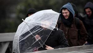 Meteorolojiden 5 ile fırtına uyarısı