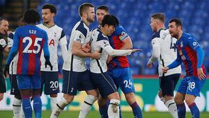 Tottenham, Crystal Palace deplasmanında takıldı