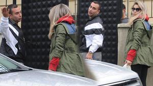 Öykü Çelik ve sevgilisi İsmail Berhan, Sarıyerde