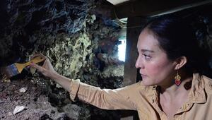 Meksika'da Aztek 'kafatası kulesinin' yeni bölümleri ortaya çıkarıldı