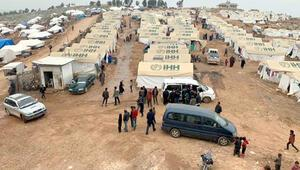 İdlib'deki kamplarda mobil sağlık klinikleri hizmet veriyor