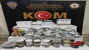 Silifkede 368 paket gümrük kaçağı sigara ele geçirildi