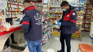 Mustafakemalpaşa Belediyesi saha ekibi sokağa çıkma kısıtlamasında da çalıştı