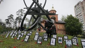 Ukraynada Çernobil Nükleer Santrali faciasının tasfiyesinde yer alanlar anıldı