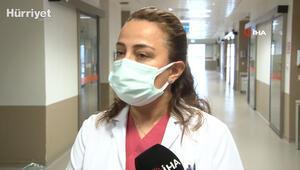 Kayseri'de korona virüsü atlatan çocukta ateş ve ciltte döküntü oldu