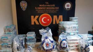 Muğla ve 3 ilçesindeki kaçakçılık operasyonlarında, 6 tutuklama