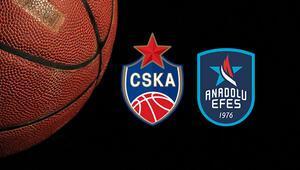 CSKA Moskova Anadolu Efes maçı saat kaçta ve hangi kanalda Temsilcimizin 700. maçı