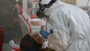 Diyarbakırda koronavirüs riskine karşı diş tedavileri özel kabinlerde yapılıyor