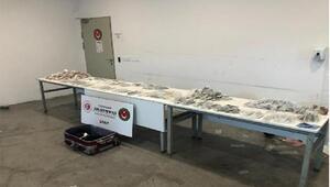 Sarp Sınır Kapısında 663 bin liralık kaçak dişçilik malzemesi ele geçirildi