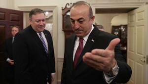 Son dakika: Dışişleri Bakanı Çavuşoğlu Pompeoyla görüştü