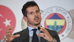 Fenerbahçede Emre Belözoğlu: Bizde bir panik havası yok