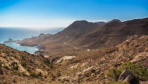 Avrupanın en kurak iklimine sahip Cabo De Gata-Nijar Ulusal Parkı