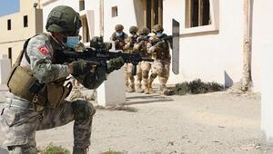 Katar Türk Birleşik Müşterek Kuvvet Komutanlığından Meskun Mahalde Teröristle Mücadele Tatbikatı