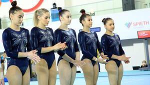 Kadın cimnastikçiler Avrupa Şampiyonasında madalya peşinde