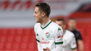 Bursasporda Batuhan Körün yıldızı parlıyor Son 2 maçta 6 gol...