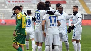 BB Erzurumspor 5-1 Esenler Erokspor / Maçın özeti ve goller