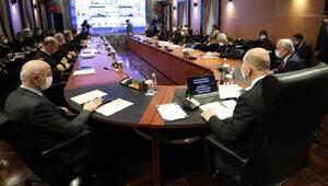 Bakan Soylu, komutanlar toplantısına başkanlık etti