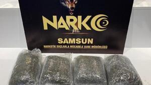 Samsun'da uyuşturucu operasyonu; 2 gözaltı