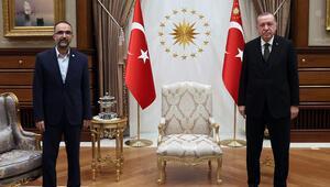 Cumhurbaşkanı Erdoğan, HÜDA PAR Genel Başkanı Sağlamı kabul etti