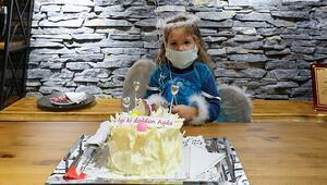 Mucize çocuk Aydaya sürpriz doğum günü kutlaması