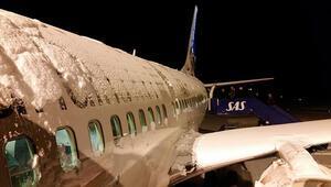 ABDde havayolu şirketlerine kar fırtınası darbesi