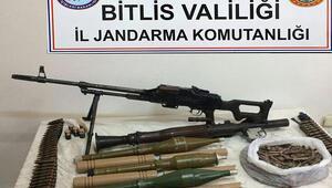 Bitliste teröristlere ait mühimmat ele geçirildi