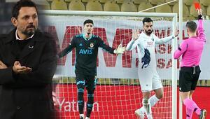 Son Dakika Haberi   Fenerbahçe-Karacabey Belediyespor maçında Erol Bulutun kararı sonrası ortalık yıkıldı Kırmızı kart çıkınca...